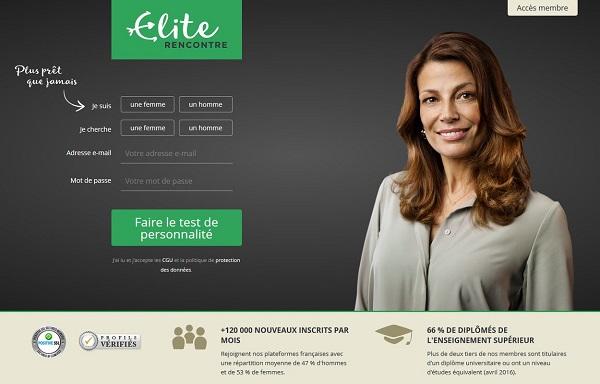 probleme site elite rencontre