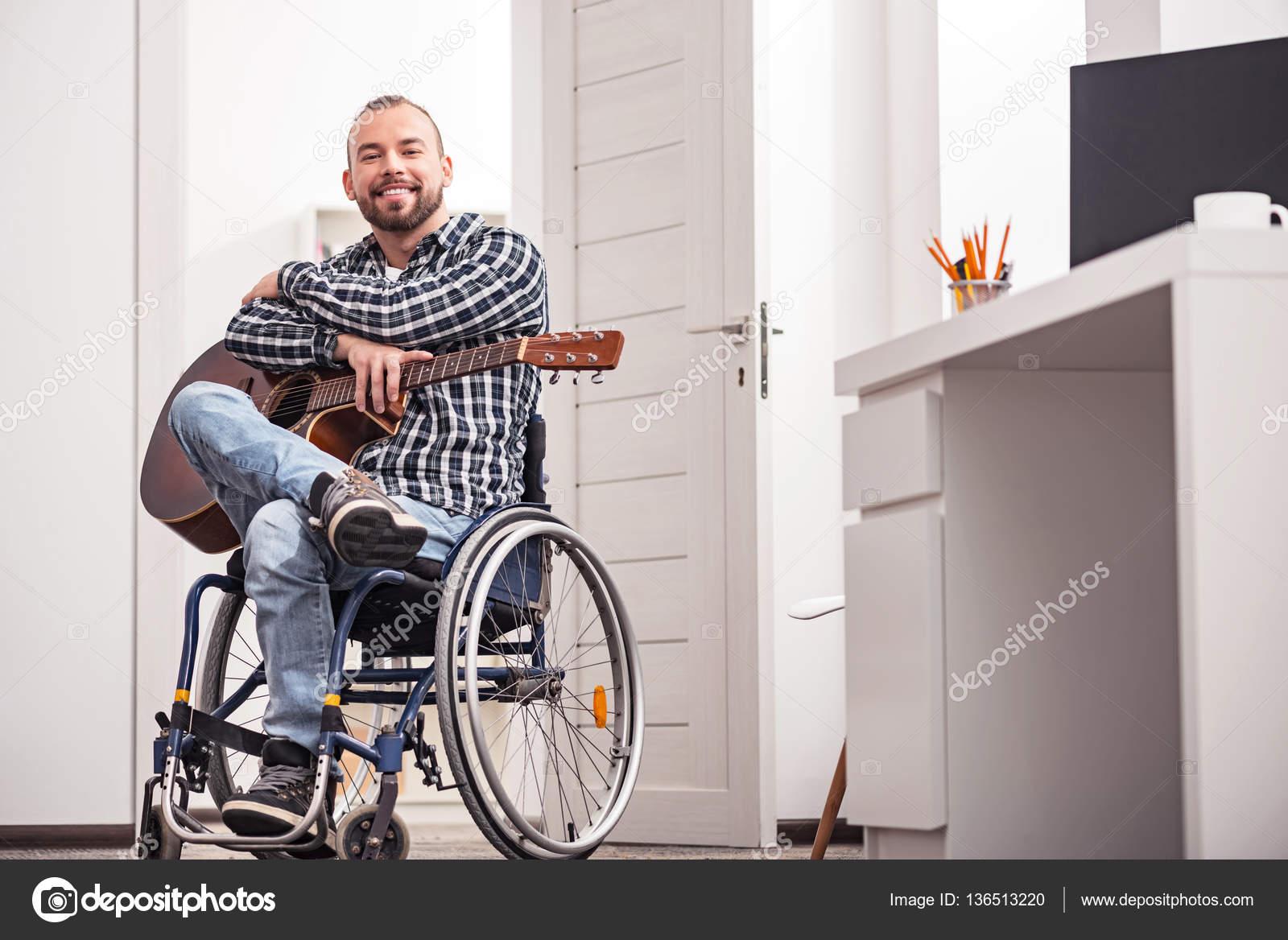Rencontre d'un homme handicapé en Hérault