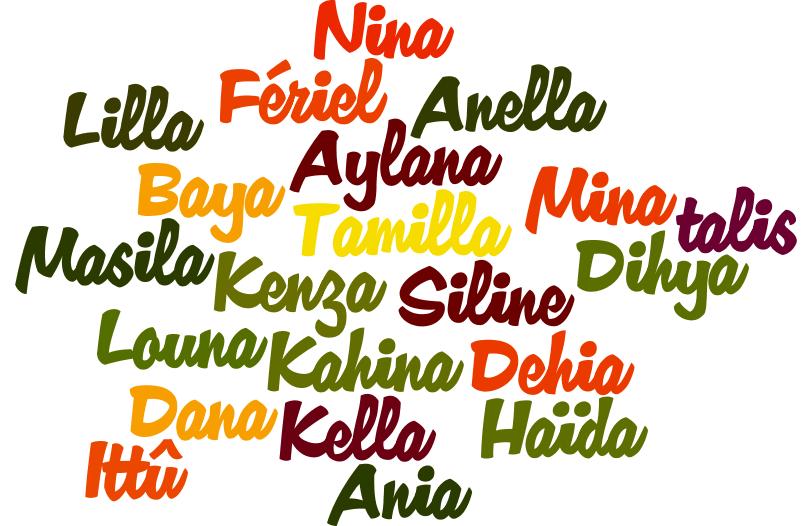 Le TOP des prénoms de filles