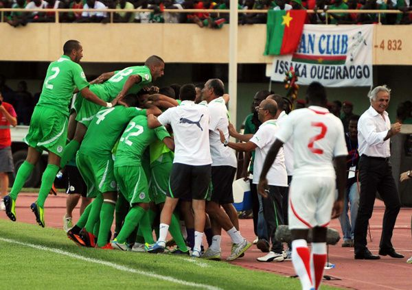 Liste des matchs de l'équipe du Burkina Faso de football par adversaire