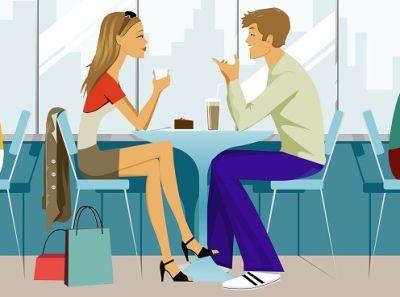 rencontre entre femme et homme)