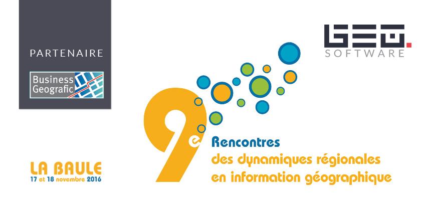 rencontres des dynamiques régionales en information géographique)