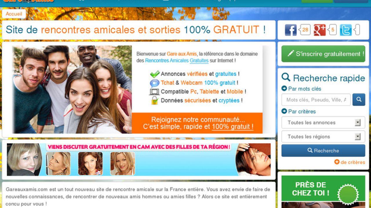 site de rencontre amis gratuit