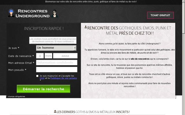 ecolalies.fr : LE MEETIC version METAL ! Trouver un bon site de rencontre dédié a