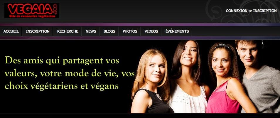 site de rencontre végétarien