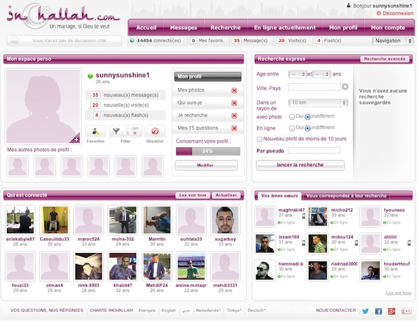 site de rencontres inchallah