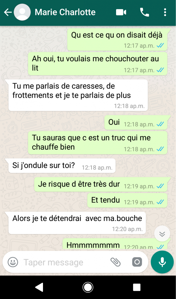 SMS Game - premier SMS à une fille - Pickup Alliance