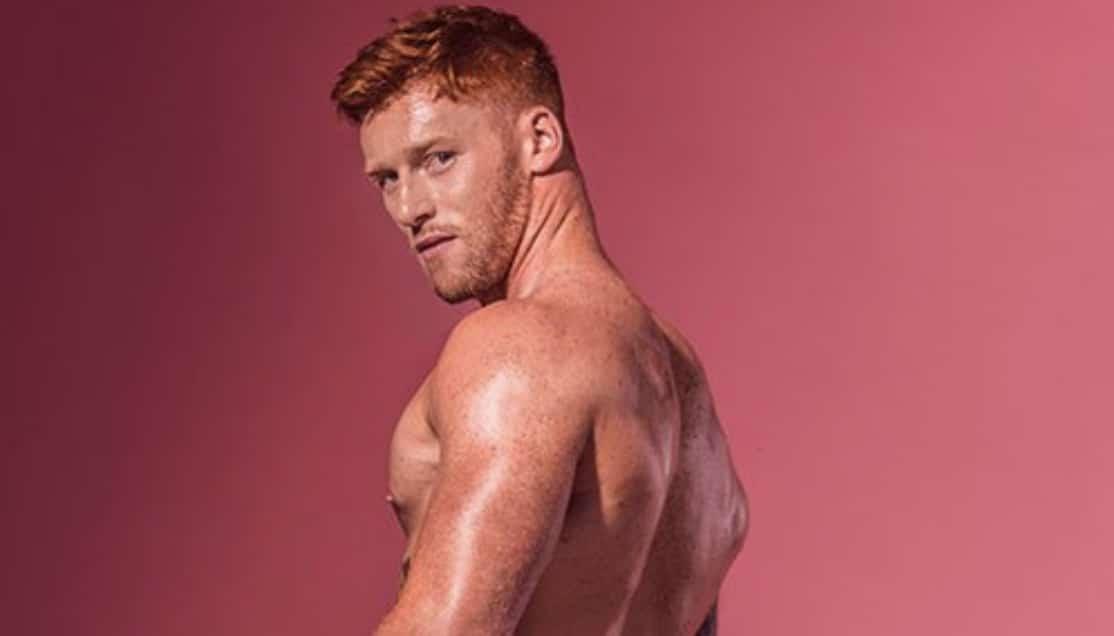 recherche mannequin homme roux