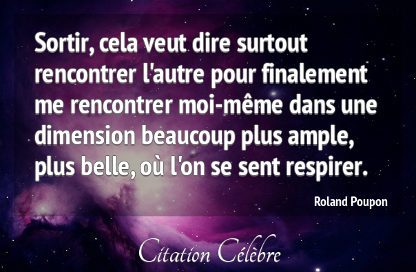 rencontrer lautre citation