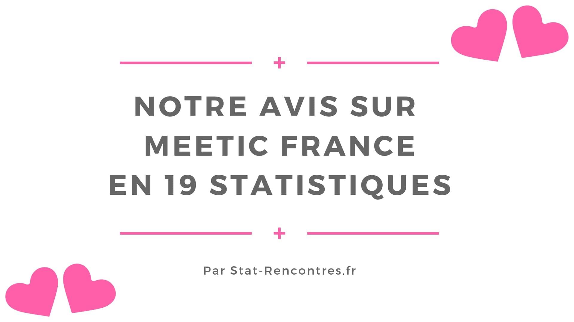 site de rencontres statistiques)