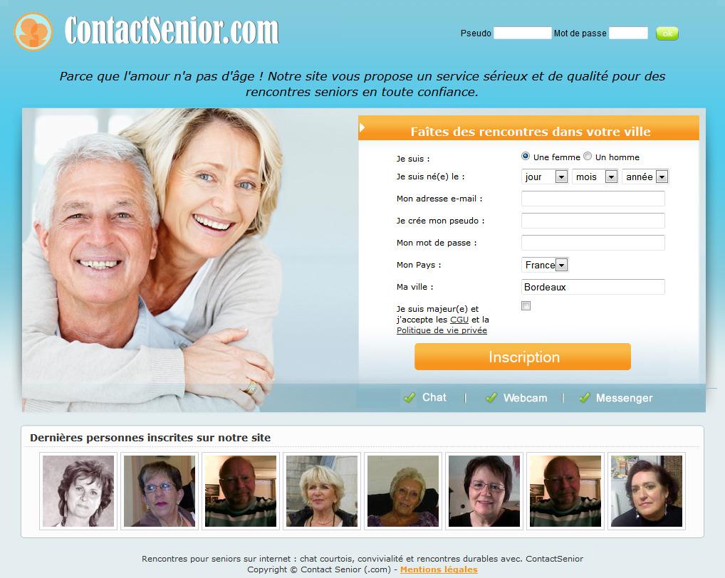 Sites de rencontre pour senior, les meilleurs sites