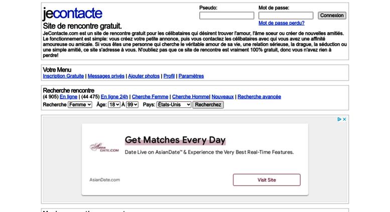 Avis Je contacte, un site 100% gratuit…et inefficace ?