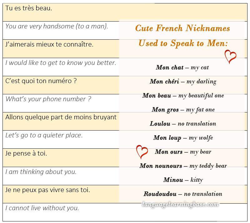 flirter a la francaise)
