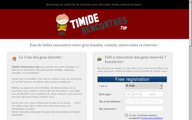 Entre timides.com