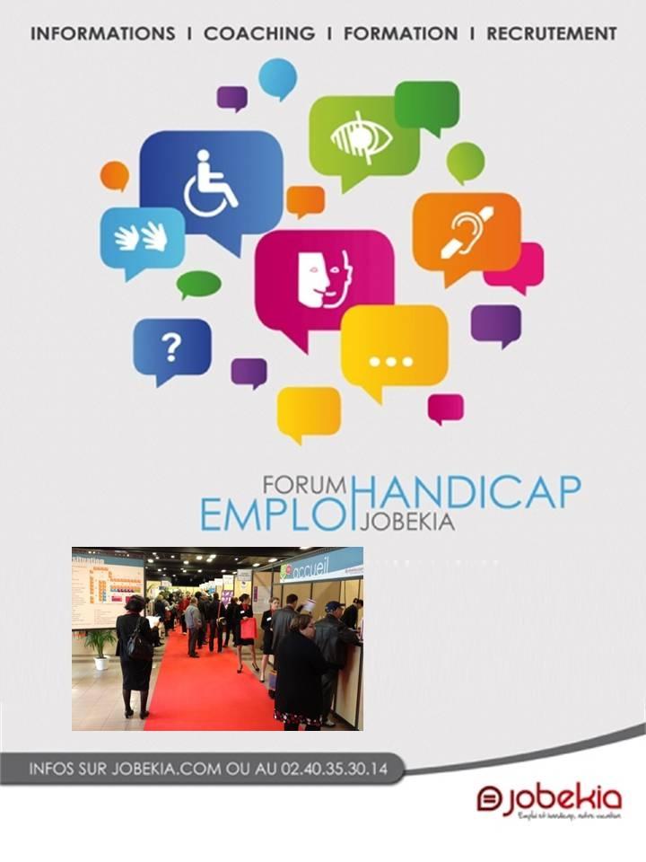 Forum Jobekia Emploi et Handicap à Toulouse   Être Handicap Information
