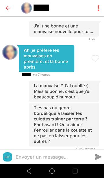 phrase pour draguer une fille sur un site de rencontre rencontre femme tunisienne divorce