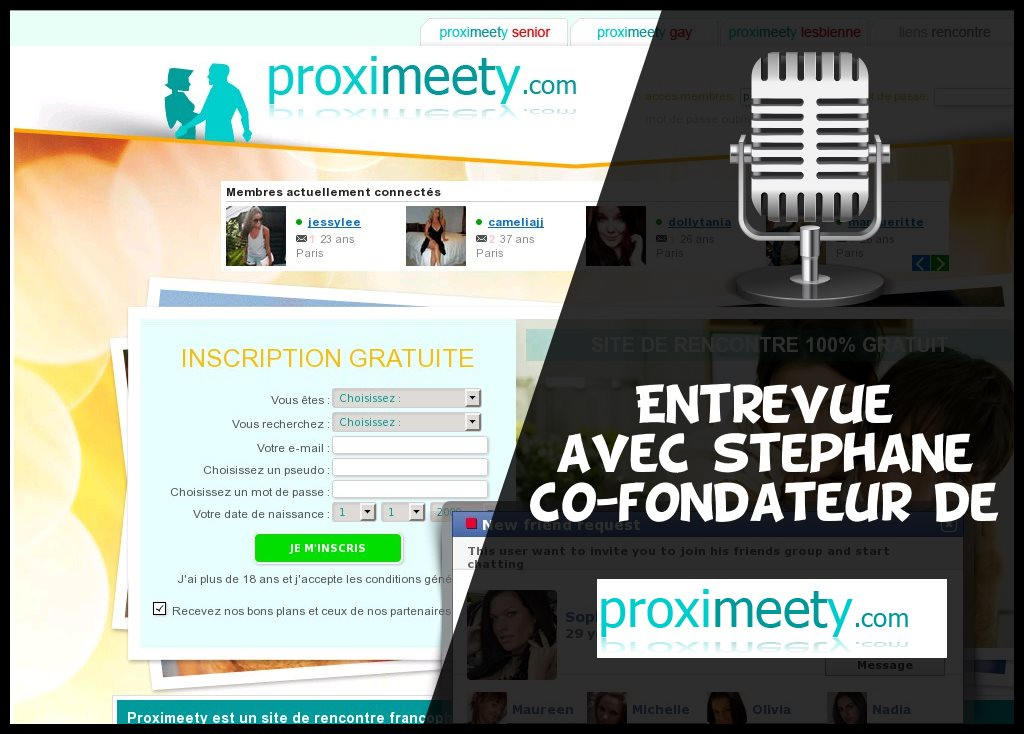 site de rencontre proximeety