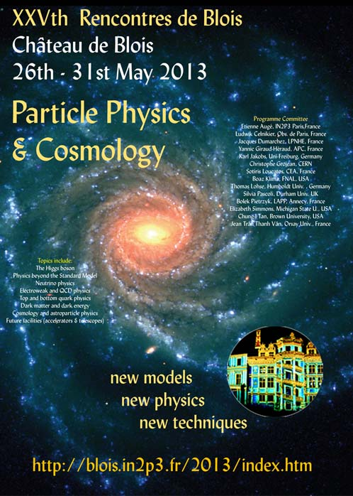 25th rencontres de blois particle physics and cosmology)