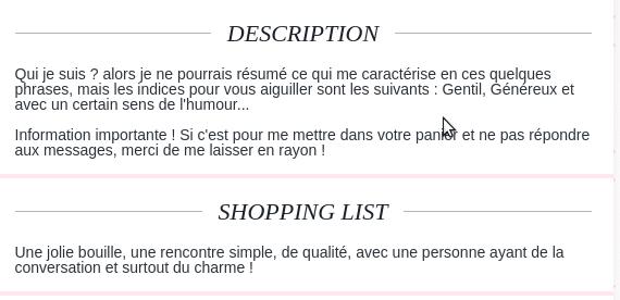exemple presentation profil site rencontre