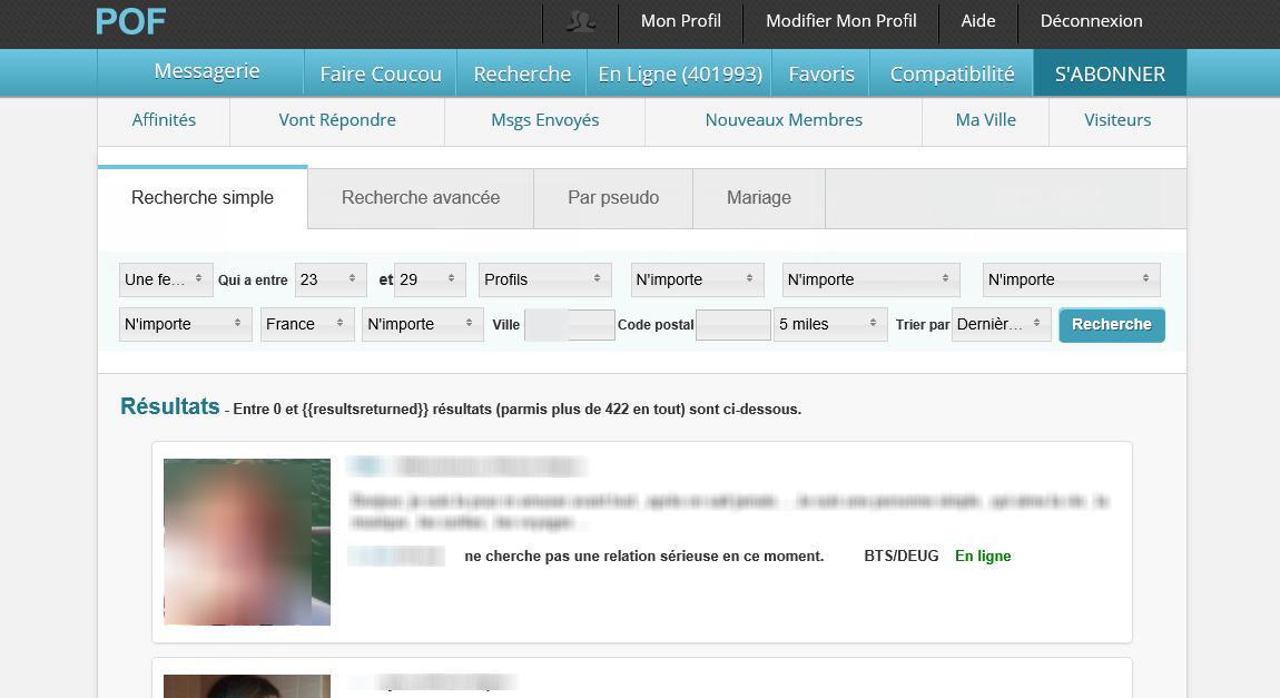 POF Mobile | Test, Avis, inscription en ligne - Wannameet