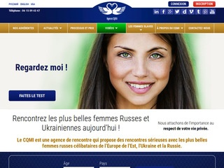 Avis et témoignages agences matrimoniales franco russes