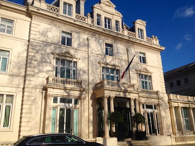 Le maire de Londres Sadiq Khan à la rencontre des entrepreneurs français