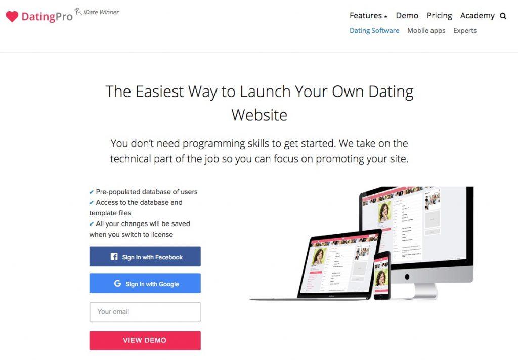 créer un site web de rencontres)