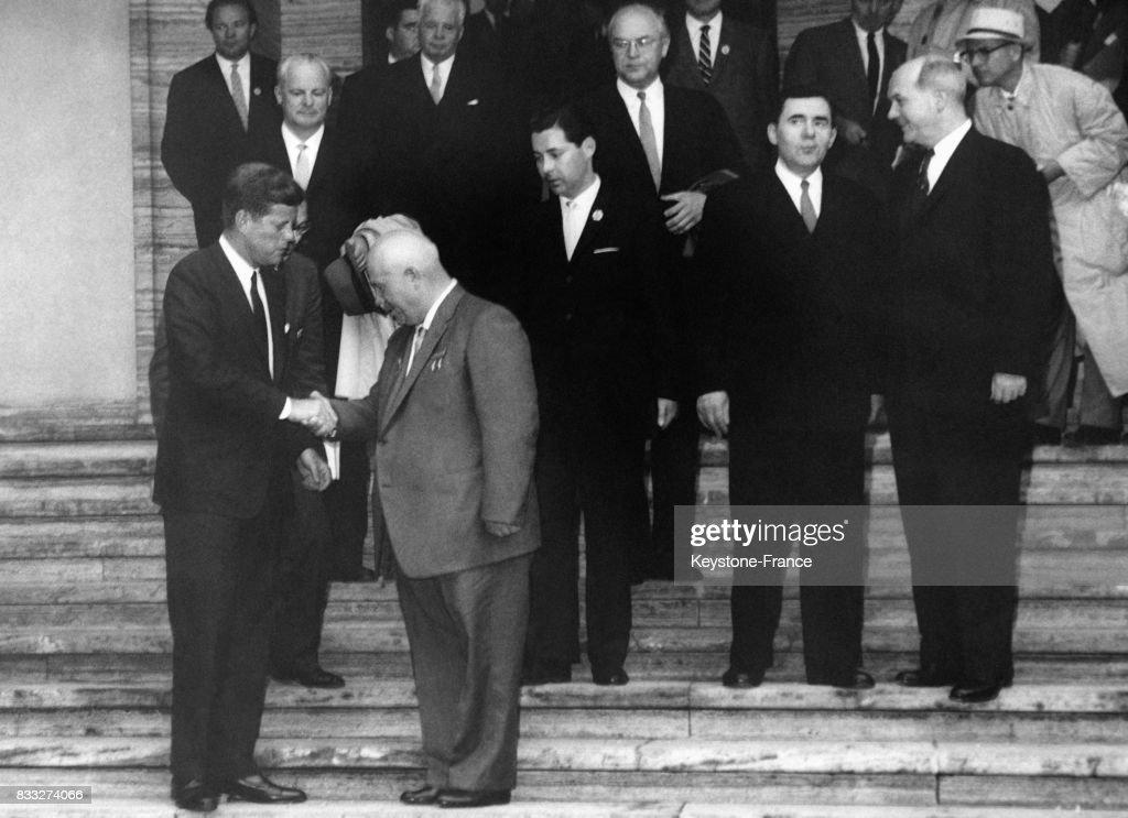rencontre kennedy khrouchtchev vienne)