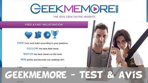 site de rencontre geek gratuit