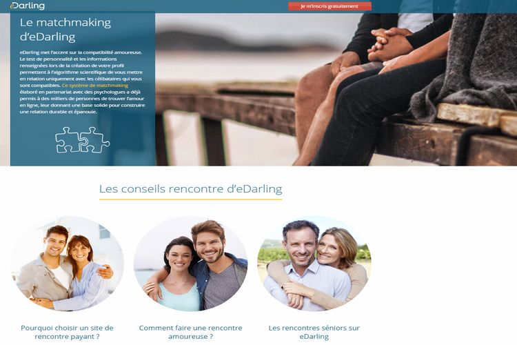 eDarling | Test, Avis, inscription en ligne - Wannameet