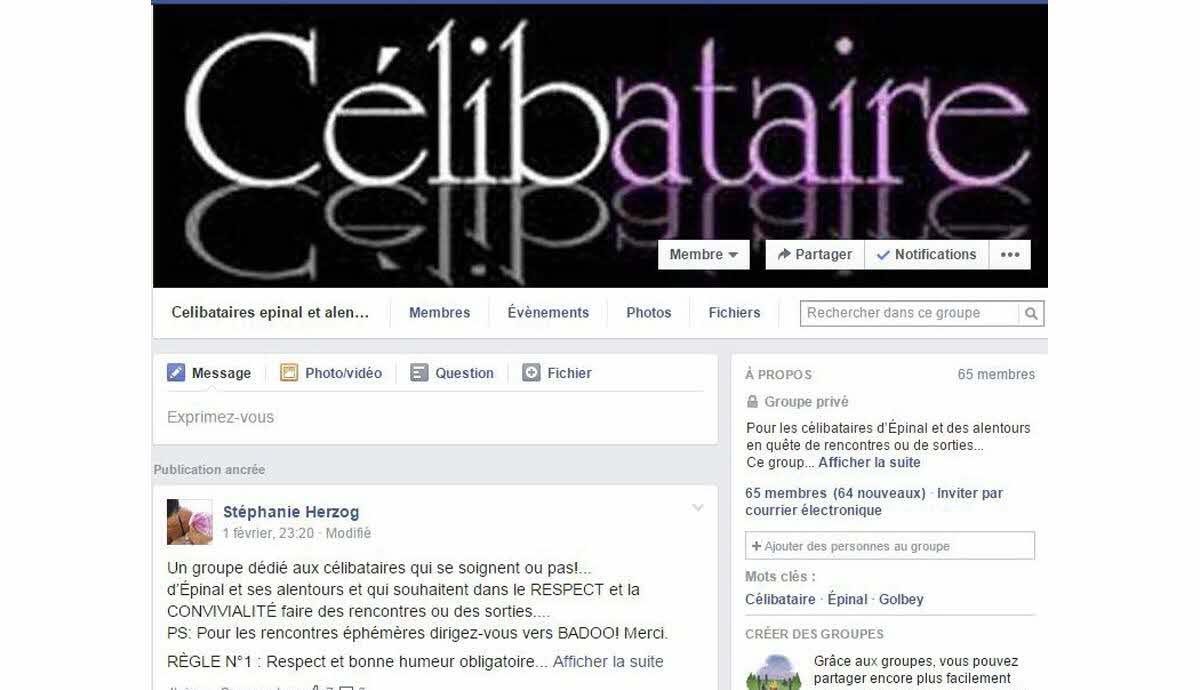 facebook rencontre celibataire
