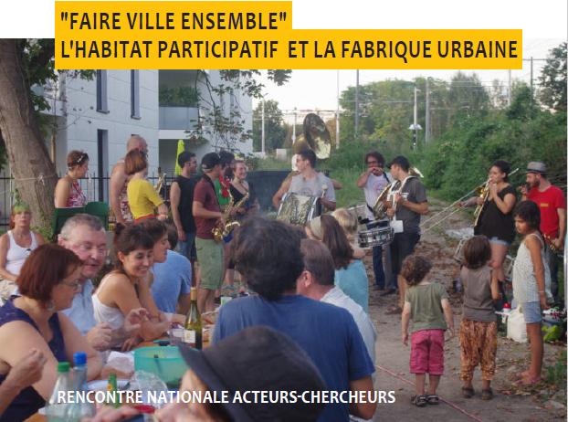 Atelier d'Ecoravie aux Rencontres Nationales de l'Habitat Participatif de Marseille