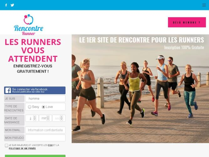 site rencontre runner