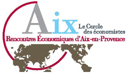 Événement : 19e édition des Rencontres Économiques d'Aix-en-Provence, du 5 au 7 juillet