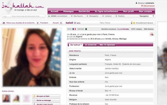 site de rencontre inchallah avis rencontre femmes de lest gratuit