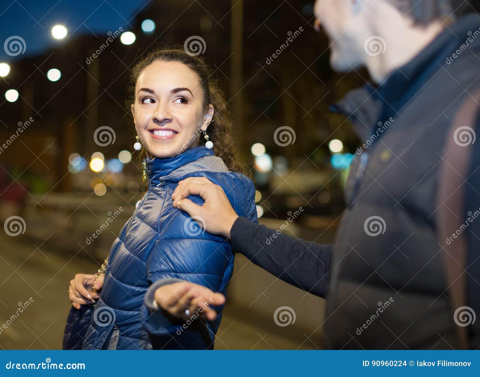 flirter avec une femme