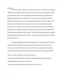 La princesse de Clèves, Madame de La Fayette _ scène de bal - ecolalies.fr