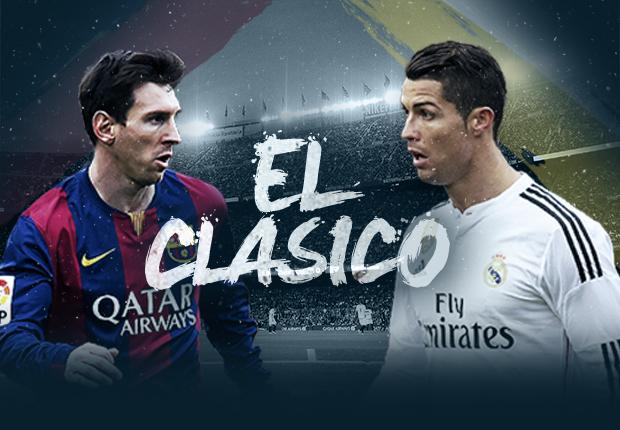 Classico Barça Real El Clasico