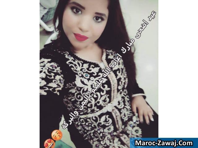 jeune marocaine cherche homme)