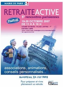 rencontres parisiennes de la retraite active)