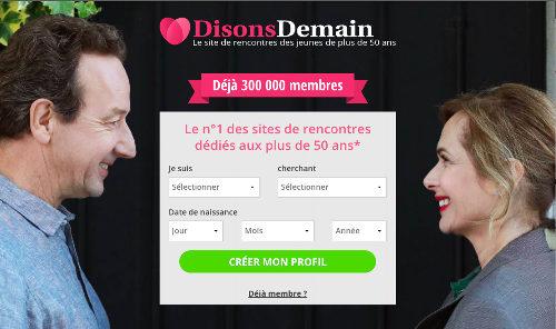site de rencontre gratuit pour femme de 50 ans