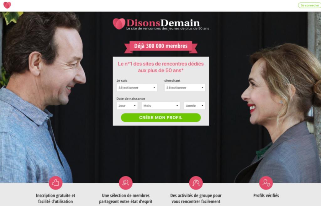 Rencontre senior France - Site de rencontre gratuit pour senior France