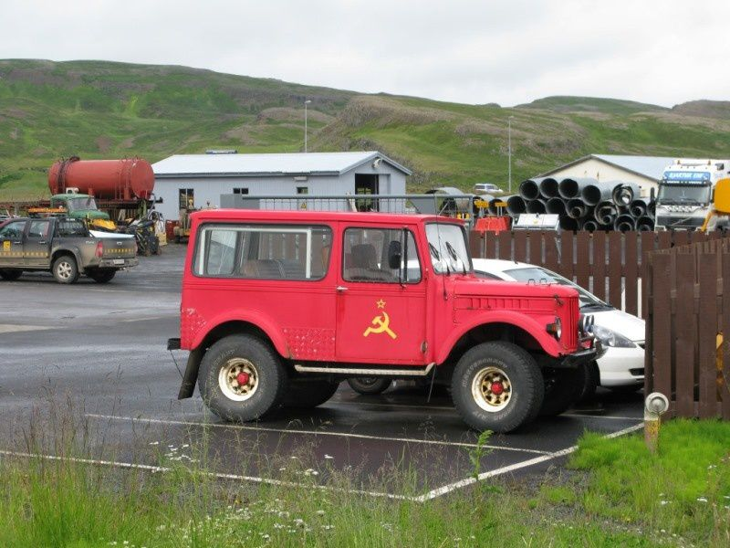 Rencontre en Islande